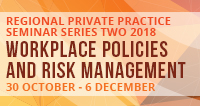 Cairns Regional Private Practice Seminar Series Two